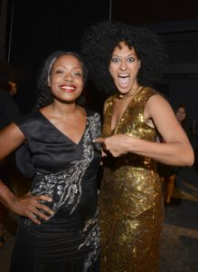 Tracy Reese and Actress Tracee Elis Ross
