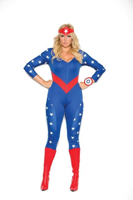 Plus Size American Hero
