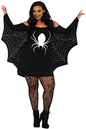 Plus Size Spiderweb Costume