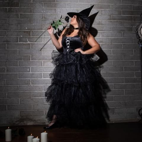 plus spellbound witch costume